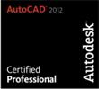 cert_professional2012 AutoCAD