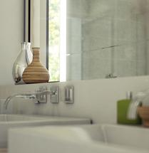 Badezimmer 3D Renderings